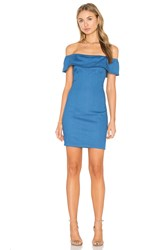 Wyldr Mailey Bodycon Dress Blue