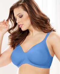 Leading Lady Wireless Plus Size Bra 5042 Blue Mist