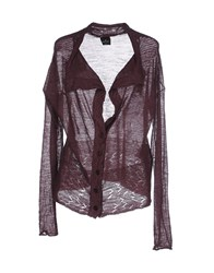Gotha Knitwear Cardigans Women Deep Purple