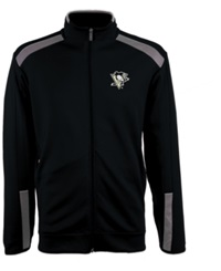 Antigua Men's Pittsburgh Penguins Flight Jacket