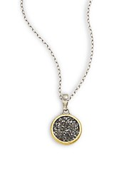 Gurhan Celestial Collection 24K Goldplated Sterling Silver Pendant Necklace Silver Gold