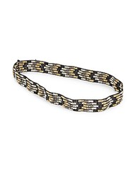 Robert Rose Chevron Beaded Headband Multi