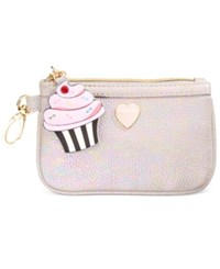 Betsey Johnson Xox Trolls Zip Coin Pouch Only At Macy's Multi