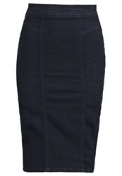 Miss Selfridge Pencil Skirt Blue