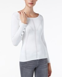 Guess Doris Pointelle Sweater Scuffy