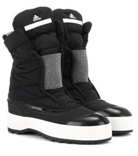 Adidas By Stella Mccartney Padded Winter Boots Black