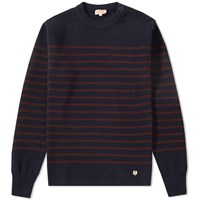 Armor Lux 70094 Heritage Crew Knit Blue