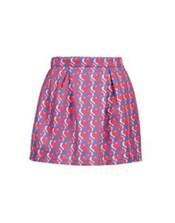 George J. Love Mini Skirts Blue
