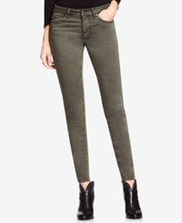 Vince Camuto Two By Colored Wash Skinny Jeans Olive Earth