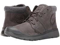Palladium Pallaville Hi Cuff L Forged Iron Metal Men's Lace Up Casual Shoes Brown