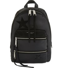 Marc Jacobs Star Patchwork Leather Backpack Black Multi
