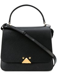 Emporio Armani Top Handle Tote Black