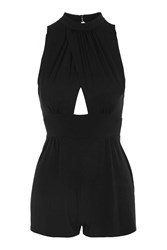 Love Cross Over Playsuit By Black