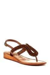 Naughty Monkey Alloy Mate Sandal Metallic