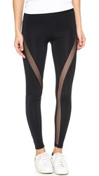 David Lerner Mesh Tribal Leggings Classic Black