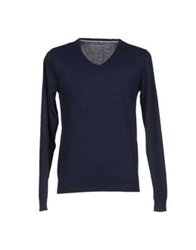 Fred Mello Sweaters Dark Blue