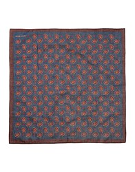 Jacob Cohen Jacob Coh N Square Scarves Dark Brown