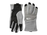 The North Face Denali Etip Glove High Rise Grey Heather Pache Grey Extreme Cold Weather Gloves Gray