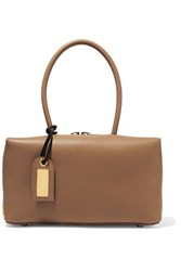 Tom Ford Samantha Small Leather Tote Camel