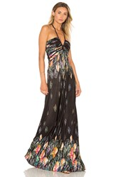 Sky Yamming Maxi Dress Black