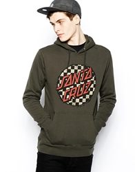 Santa Cruz Hooded Sweat Grey