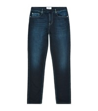 7 For All Mankind Luxe Sport Tapered Jogger Jeans Male Blue