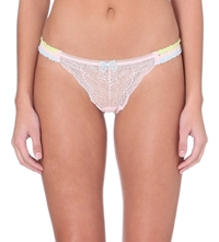 Myla Candy Lace Knickers Cupid Pink