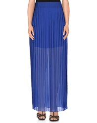 Pinko Tag Skirts Long Skirts Women Blue