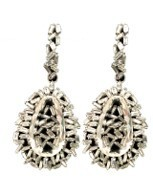 Suzanne Kalan White Gold Earrings Silver