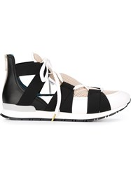 Vionnet Elasticated Band Sneakers White
