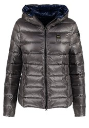 Blauer Down Jacket Grey