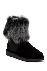 Ugg Lora Genuine Sheepskin Lined Boot Black