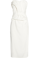 Sophia Kokosalaki Thalassa Ruched Crepe Dress