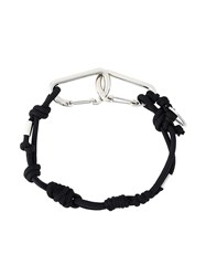 Dsquared2 Rope Necklace Black