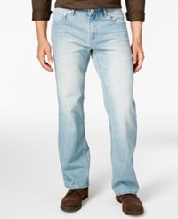 Inc International Concepts Men's Relaxed Fit Light Wash Jeans Only At Macy's