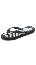 Bedwin And The Heartbreakers Mayte Beach Sandals Black