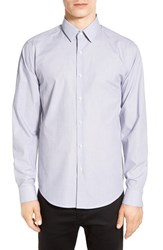 Theory Men's 'Sylvain' Trim Fit Long Sleeve Sport Shirt