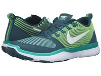 Nike Free Train Versatility Midnight Turquoise Rio Teal Hyper Jade White Men's Cross Training Shoes Blue