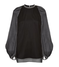 Brunello Cucinelli Chain Trim Top Female Black