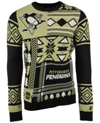 Forever Collectibles Men's Pittsburgh Penguins Patches Christmas Sweater