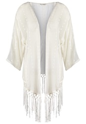 Miss Selfridge Tunic Cream Beige