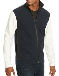 Kenneth Cole Long Sleeve Full Zip Jacket Indigo