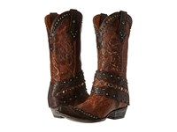 Old Gringo Jerely Oryx Chocolate Cowboy Boots Tan