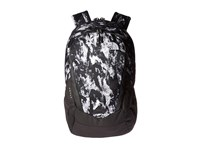 The North Face Vault Mountain Camo Print Metallic Silver Backpack Bags Black
