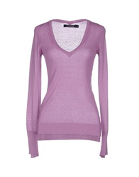 Jeckerson Sweaters Lilac