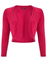 Precis Petite Knitted Shrug Mid Pink