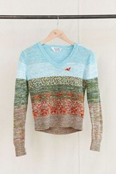 Urban Renewal Vintage Yarn Dyed V Neck Sweater Assorted