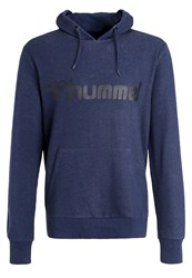 Hummel Classic Bee Hoodie Dress Blue Melange Black