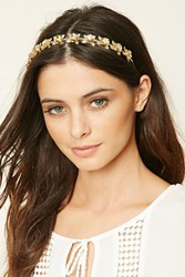 Forever 21 Etched Floral Headband