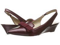 Bandolino Yesminna Wine Wine Women's Wedge Shoes Red